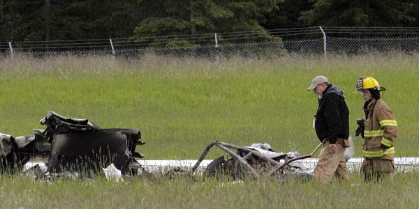 Uçak kazası: Kurtulan yok