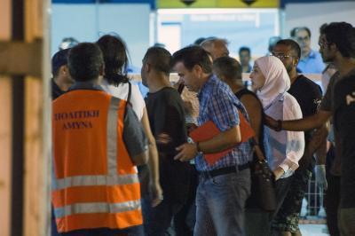 Denizde Tehlike İçinde olan 350 Mültecinin Hayatı Kurtarıldı