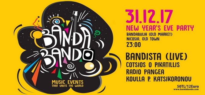 """Bandista """"BanDoBanDo Yılbaşı Partisi""""nde çalıyor!"""