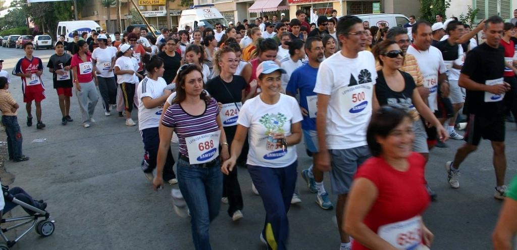 KTTBO, 6. Lefkoşa Maratonu'na sponsorluk yapacak