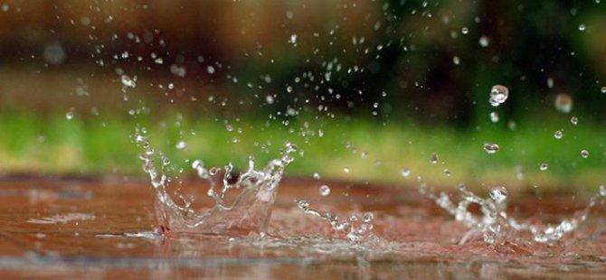 Dün en çok yağış Değirmenlik'e düştü