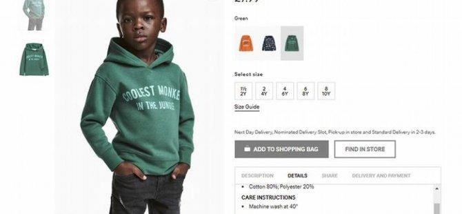 H&M ırkçı sweatshirtü katalogtan çıkardı