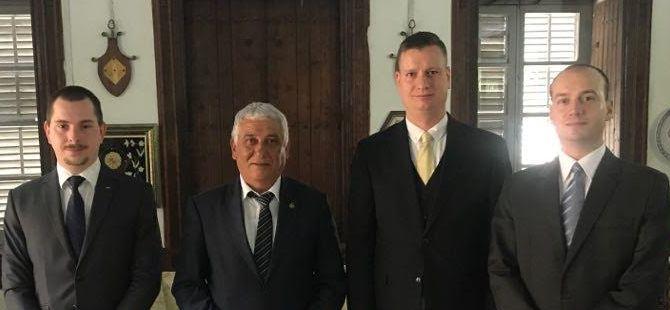 Macaristan Belediyeler Meclisi üyeleri Özçınar'ı ziyaret etti