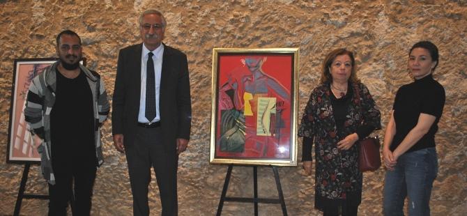 Natia Chkheidze'in kişisel sergisi açıldı