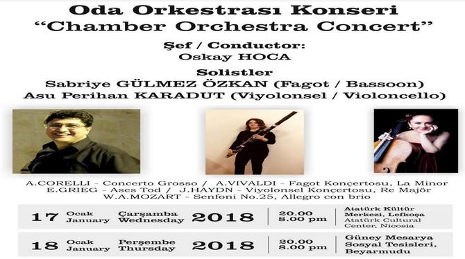 Lefkoşa Belediye Orkestrası17 ve 18 Ocak'ta konser veriyor