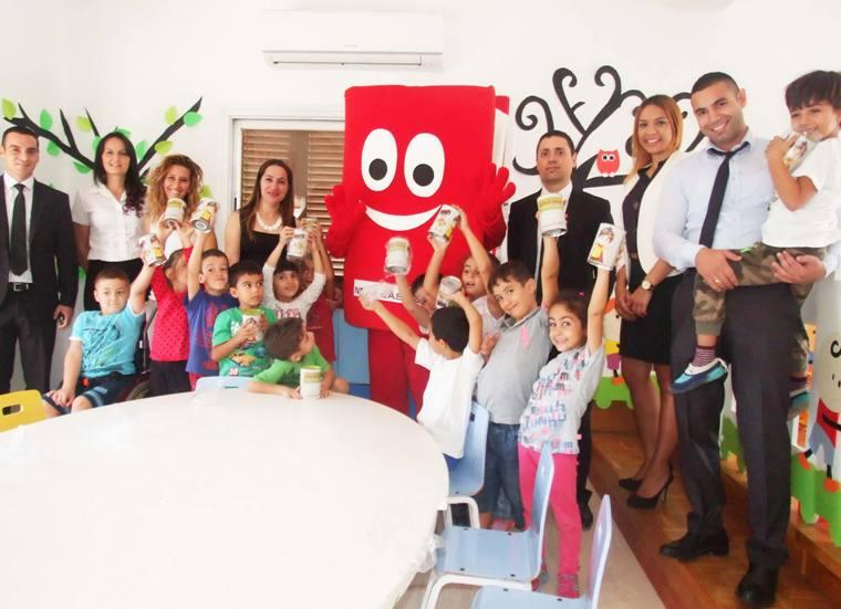 Near East Bank'dan Çocuklara Tasarruf Bilinci