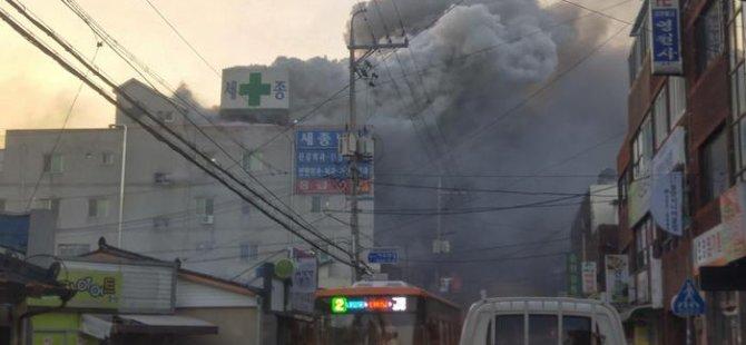 Güney Kore'deki hastane yangınında 41 kişi öldü