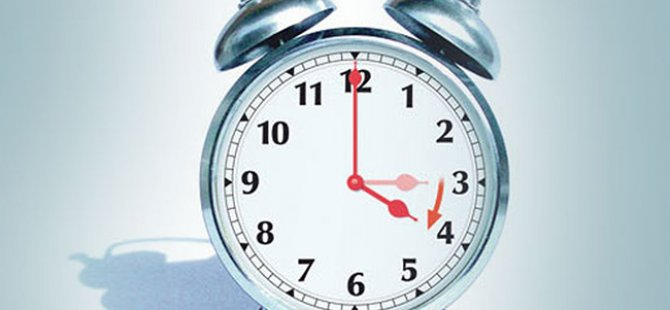 29 Mart Pazar günü saatler ileri alınacak