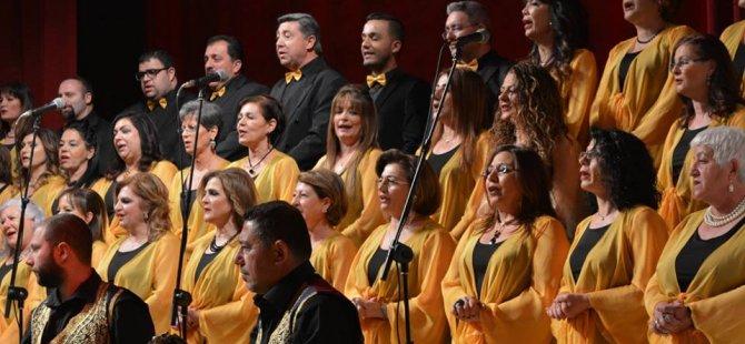Çağdaş Müzik Derneği TSM Korosu Bakü'de konser verdi