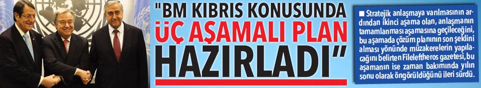 """BM KIBRIS KONUSUNDA ÜÇ AŞAMALI PLAN HAZIRLADI"""