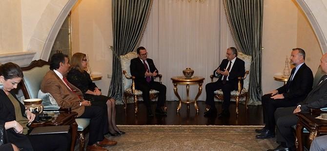 Cumhurbaşkanı Akıncı Ticaret Odası'nın yeni yönetim kurulunu kabul etti