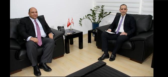 LTB Başkanı Harmancı, Ulaştırma Bakanı Tolga Atakan'ı ziyaret etti