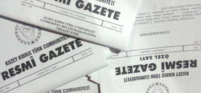 2018 bakanlıklara bağlı daireler tüzüğü Resmi Gazete'de