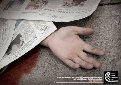 Rusya'da Gazeteci Cinayeti