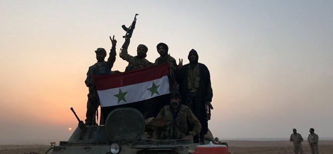Rusya: Bizden önce topraklarının yüzde 8'ini elinde tutan Suriye ordusu, şu anda yüzde 96.5'ini kontrol ediyor