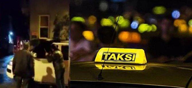 Taksiciler, müşteri gibi çağırdıkları Uber şoförünü dövdü