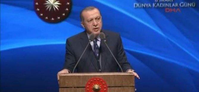 """Erdoğan: """"İslam'ın güncellenmesi gerektiğini bilmeyecek kadar acizler"""""""