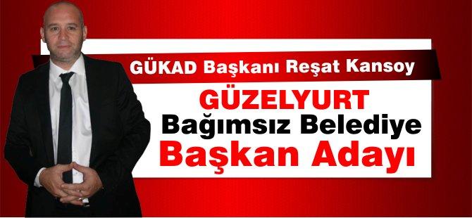 GÜKAD Başkanı Reşat Kansoy Güzelyurt'tan Belediye Başkan adalığı sinyali verdi