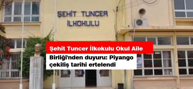 Şehit Tuncer İlkokulu Okul Aile Birliği'nden duyuru