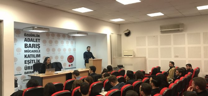 CTP Gençlik Örgütü'nde görev dağılımı yapıldı
