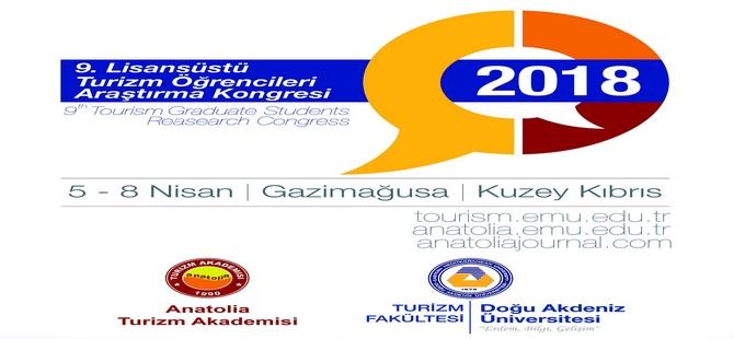 """DAÜ Turizm Fakültesi """"9. Lisansüstü Turizm Öğrencileri Araştırma Kongresi""""ne ev sahipliği yapacak"""