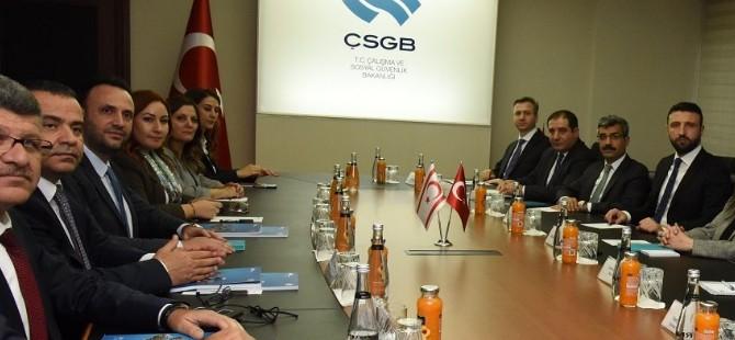 Bakan Çeler, Ankara'da temaslarda bulunuyor