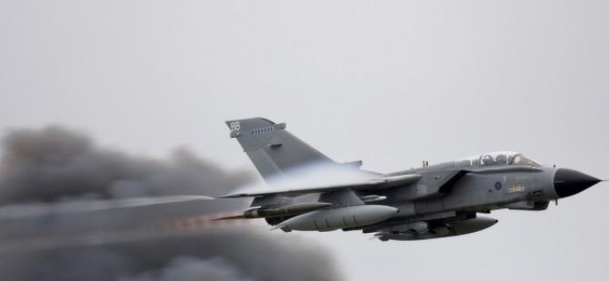 İngiliz üslerinden kalkan uçaklar Suriye'yi vurdu