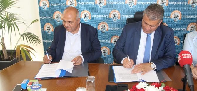 Maraş Bölgesi Asfalt Yenileme ve Kaldırım Yapımı Projesi için imzalar atıldı