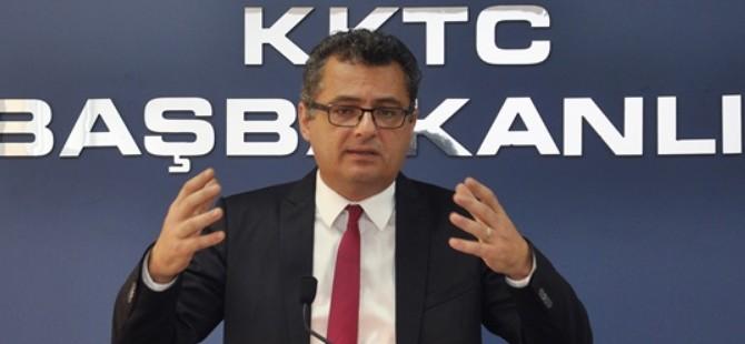Başbakan Erhürman'ın basın toplantısından satır başlıkları