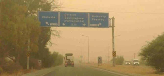 Meteoroloji Dairesi toz zerreciklerine karşı halkı uyardı