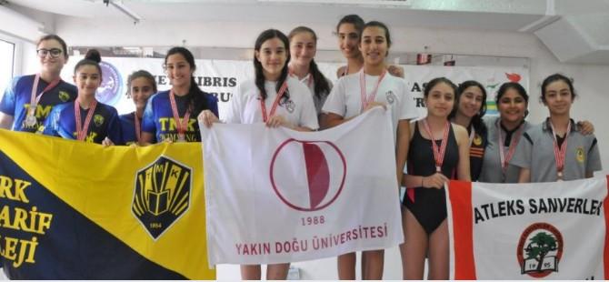 Yüzme yarışlarında YDÜ damgası