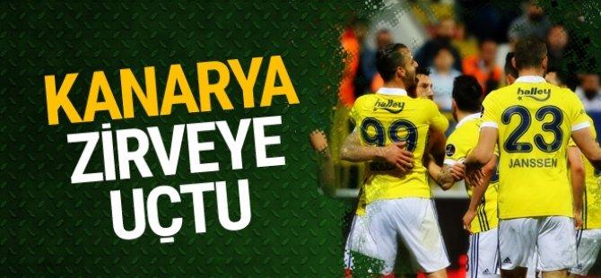 Fenerbahçe Farklı Kazandı ve...