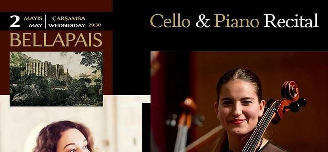 Bellapais İlkbahar Müzik Festivali Cello & Piano Resitali ile devam ediyor