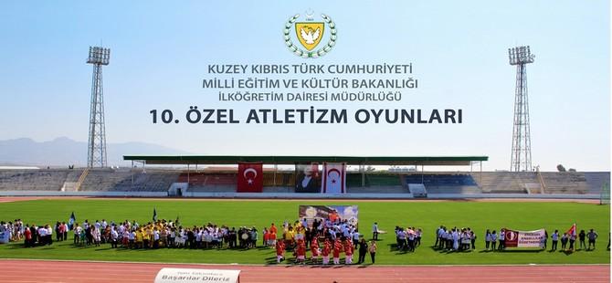 10. Özel Atletizm Oyunları 3 ve 4 Mayıs'ta Lefkoşa'da yapılıyor
