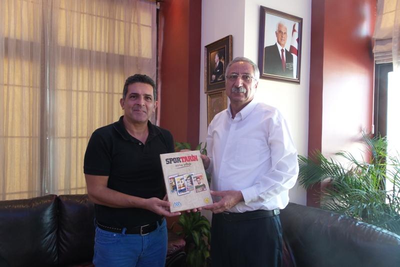 Girne Belediye Başkanı Nidai Güngördü'ye; Mete Adanır Vakfı'ndan Ziyaret