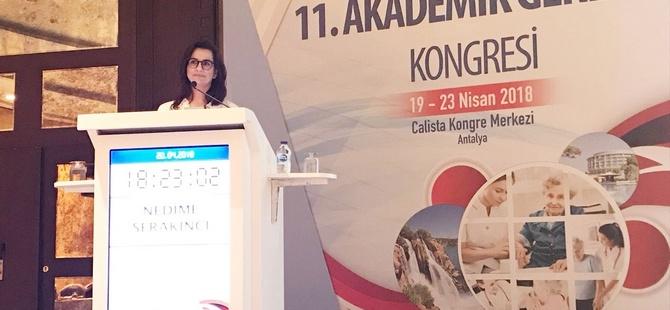 YDÜ Antalya'da Düzenlenen Geriatri Kongresine Temsil Edildi…
