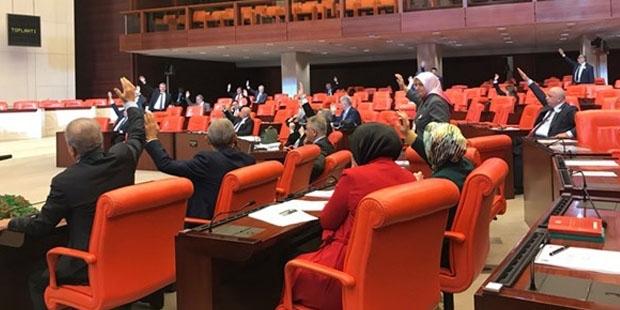 HDP'nin İsrail anlaşmalarının iptal edilmesi önergesi, AKP ve MHP oylarıyla reddedildi