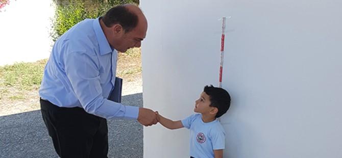 Karavezirler okulları ziyaret etti