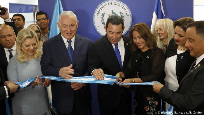 Guatemala da Kudüs'te Büyükelçilik açtı