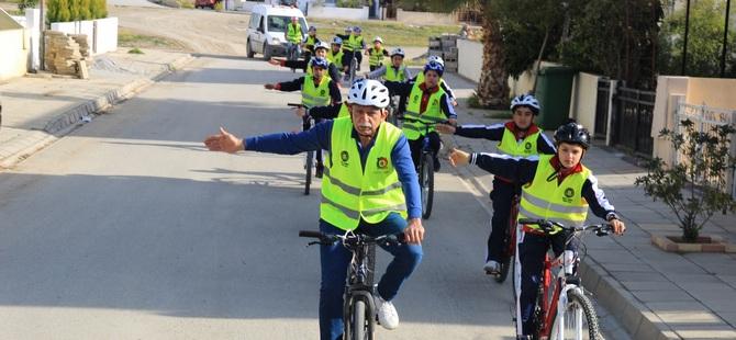 """Gönyeli'de """"Güvenli Bisiklet Sürüş Etkinliği"""""""