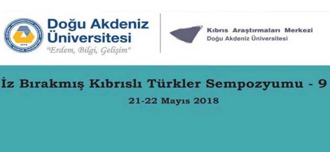 """""""İz Bırakmış Kıbrıslı Türkler Sempozyumu"""" düzenleniyor"""