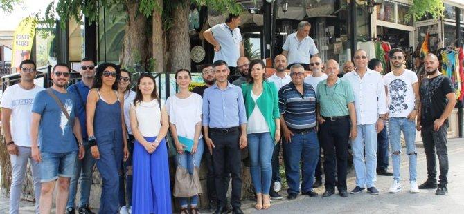 Karaman Balabayıs'ı ziyaret etti