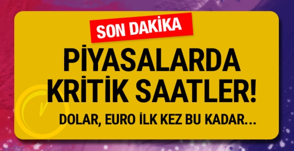 Döviz kurları Türk Lirası karşısında yeniden değer kazanıyor.
