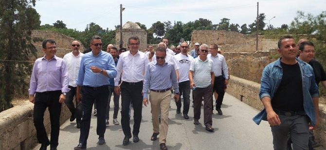 CTP Mağusa'da yürüdü