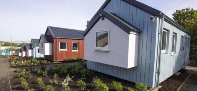İskoçya evsizler için köy kurdu