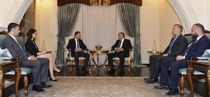 Akıncı, Kıbrıs Türk Barolar Birliği heyetini kabul etti