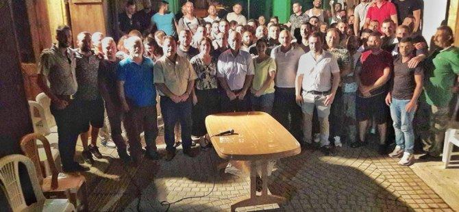 CTP Lefke Belediye Başkan adayı Kaya gençlerle bir araya geldi