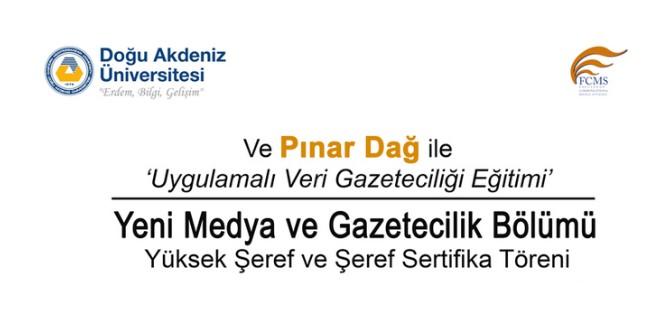 DAÜ İletişimFakültesi Pınar Dağ'ı ağırlıyor