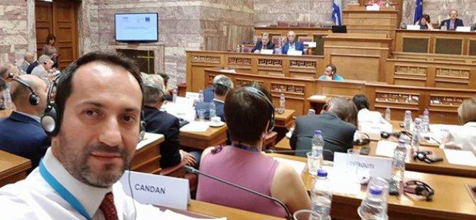 Candan, AKPA Siyasi İşler ve Demokrasi Komitesi toplantısında konuşma yaptı