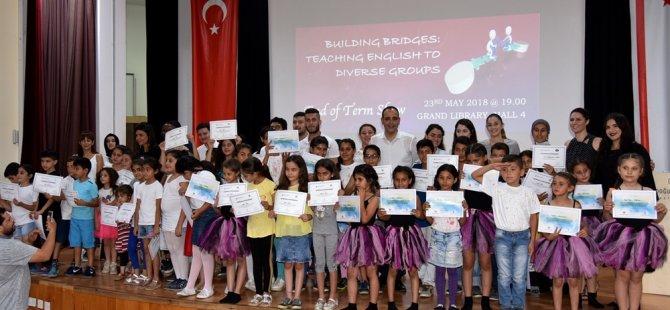 LTB Haspolat Çocuk Kulübü, İngilizce dilinde hazırladığı gösterileri sergiledi